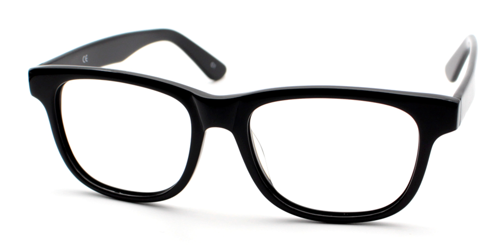 Nassim Eyeglasses Black
