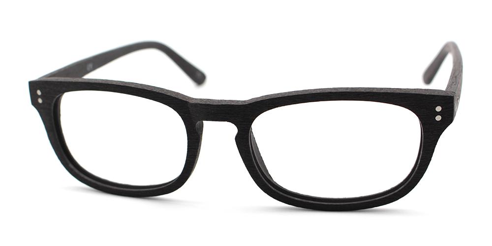 London Eyeglasses Black