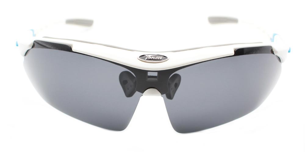 Xavie Rx Sports Glasses White - Prescription Running Sunglasses