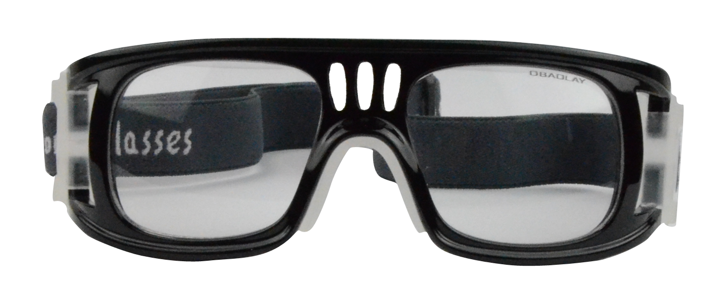 Landon Rx Baseball Basketball Football Goggle Black - Safety Glasses