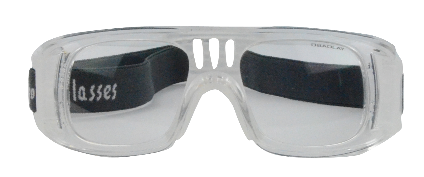 Landon Rx Baseball Basketball Football Goggle Transparent - Unisex RX Sports Glasses