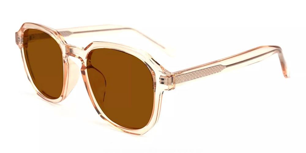 Vallejo Prescription Sunglasses Clear Orange