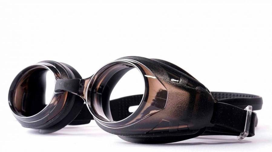 Harris Prescription Swimming Goggle - Black Adult Size
