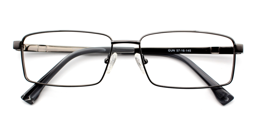 Eliot Titanium Glasses Gun