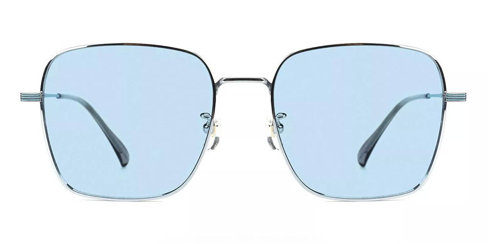 Oakland Prescription Sunglasses - Titanium Frame - Silver