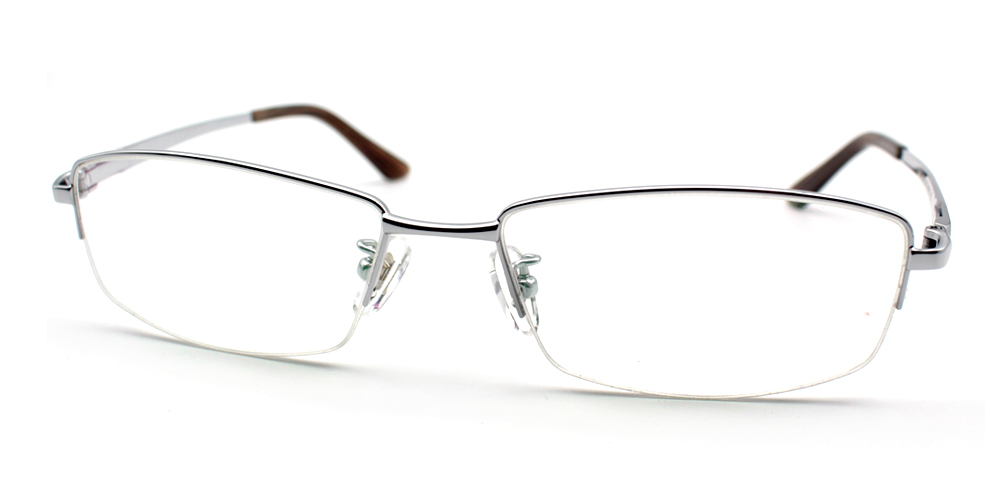 Aiden Titanium Glasses Silver