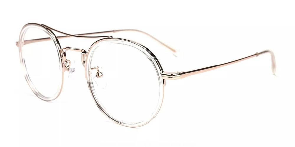 Lancaster Prescription Glasses - Handmade Acetate - Clear