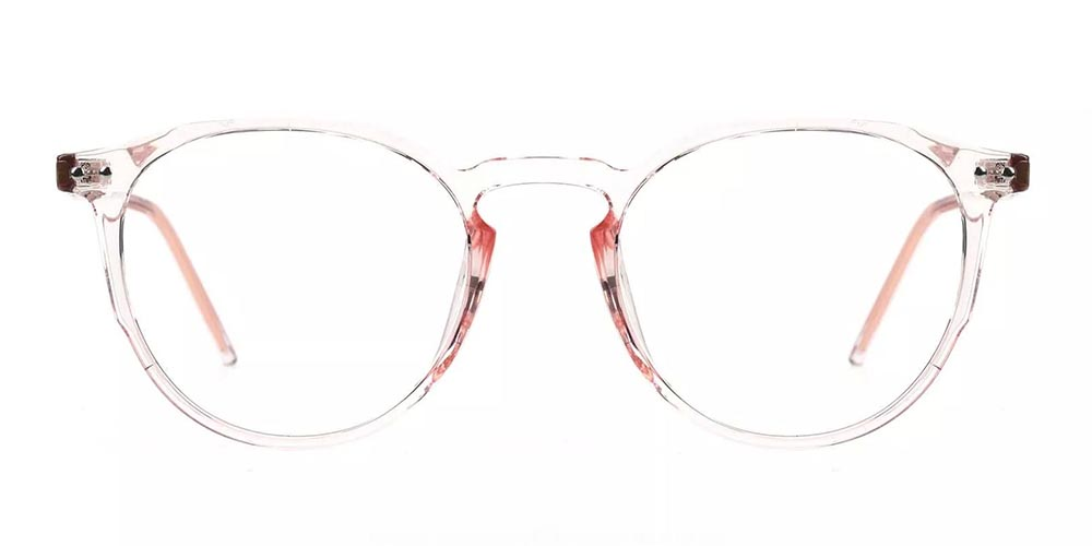 Columbia Prescription Glasses - Super Light TR90 - Clear Pink
