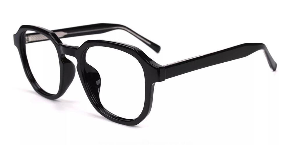Victorville Prescription Glasses - Super Light TR90 - Black