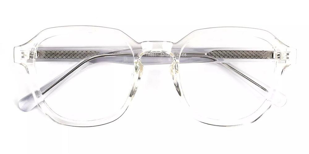Victorville Prescription Glasses - Super Light TR90 - Clear