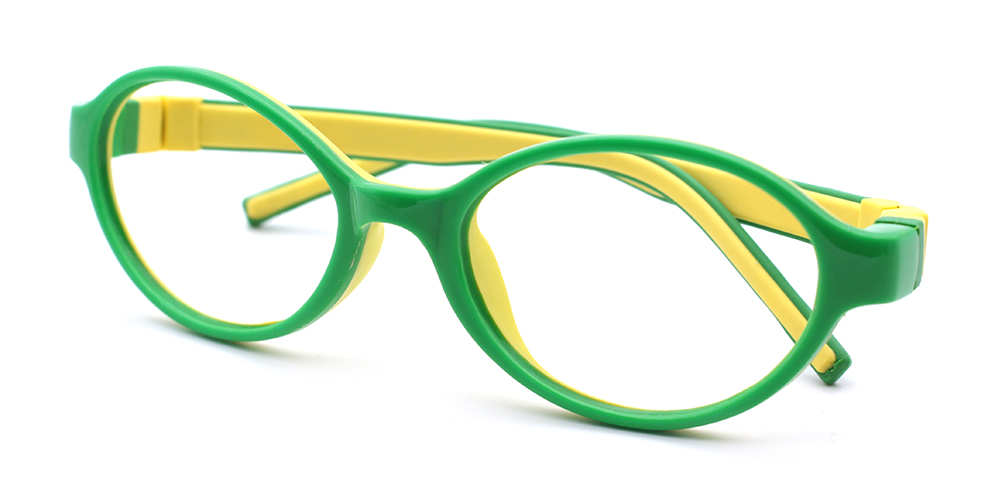 Molly Kids Rx Glasses Green