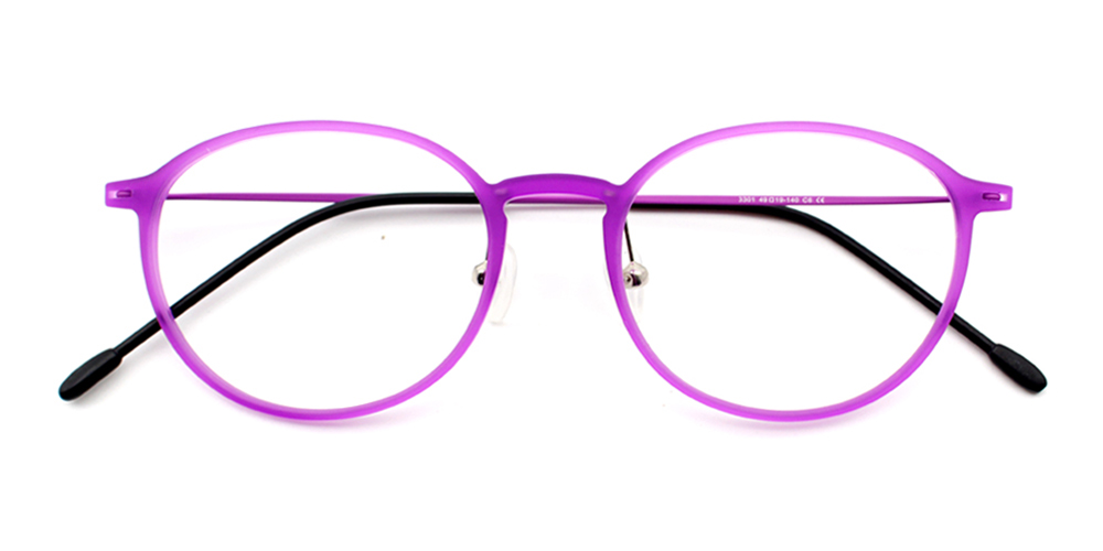Rania Bendable Glasses Pink