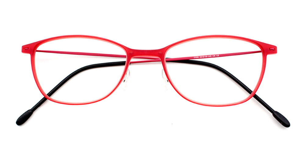 Melody Eyeglasses Red