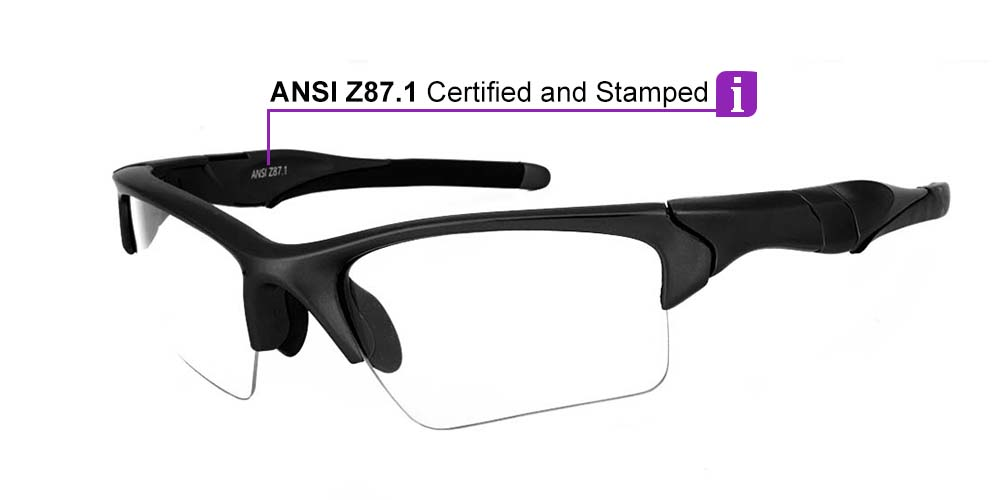 Matrix Daytona Prescription Safety Glasses -- ANSI Z87.1
