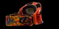 Asher Rx Ski Goggle Orange - Ski and Snowboard glasses