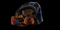 Asher Rx Ski Goggle Blue - Prescription Ski Goggles