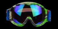 Cole Rx Ski Goggle Green - Prescription Ski Goggles