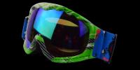 Cole Rx Ski Goggle Green - Prescription Sports Glasses