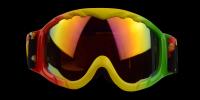 Cole Rx Ski Goggle Rainbow - Ski and Snowboard Goggles