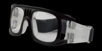 Landon Rx Baseball Basketball Football Goggle Black - Prescription Sports Glasses