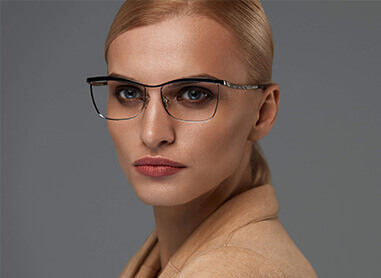 Half Rimmed Glasses for Women