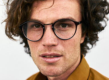 Men's Plastic Prescription Glasses