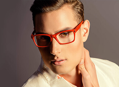 Rectangle Glasses for Men