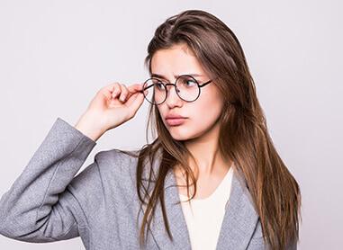 Titanium Women`s Eyeglasses Frames