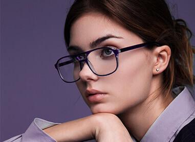 Women'S Plastic Eyeglass Frames