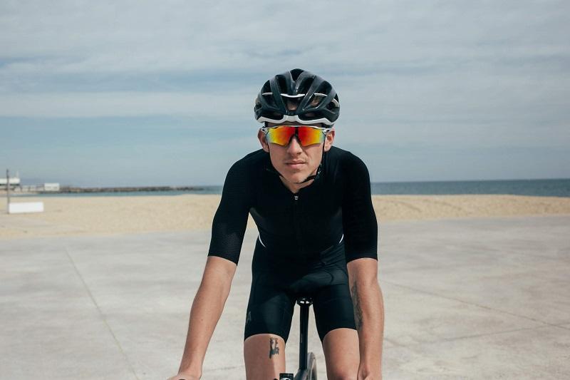 Prescription cycling sunglasses
